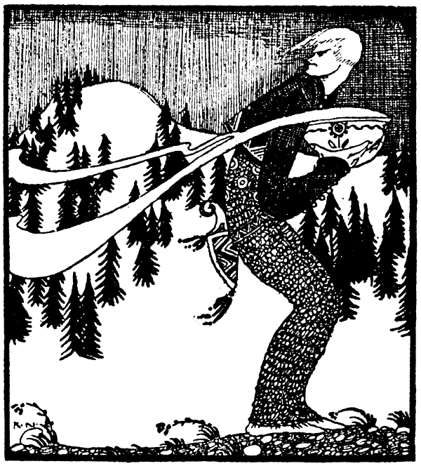 The Lad Who Went to the North Wind - A Norwegian Folktale