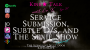 Artwork for Ep 21. Service Submission, Subtle D/s, and The Sexie Show