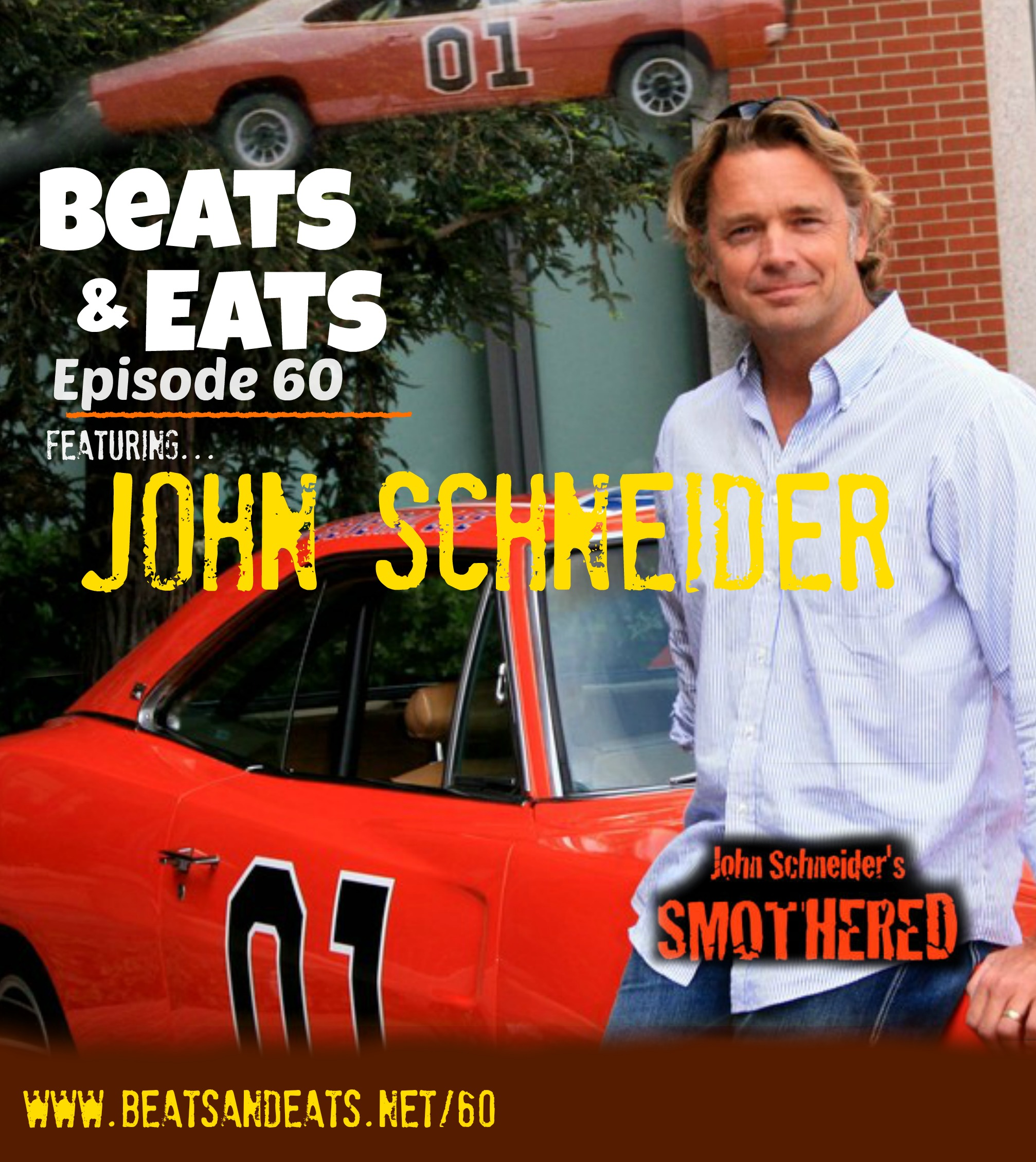 B&E #60: John Schneider | Dukes of Hazzard | Smothered | Smallville | 80's TV