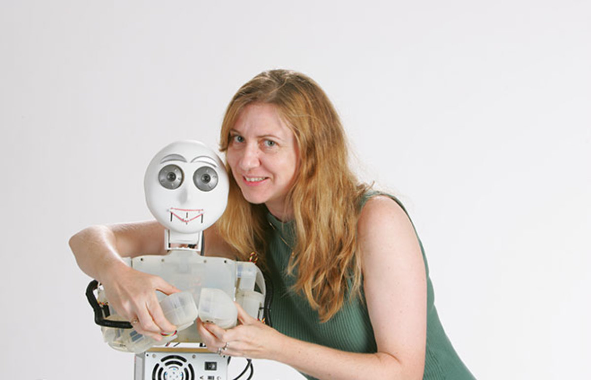 Dr. Maja Mataric & Friend