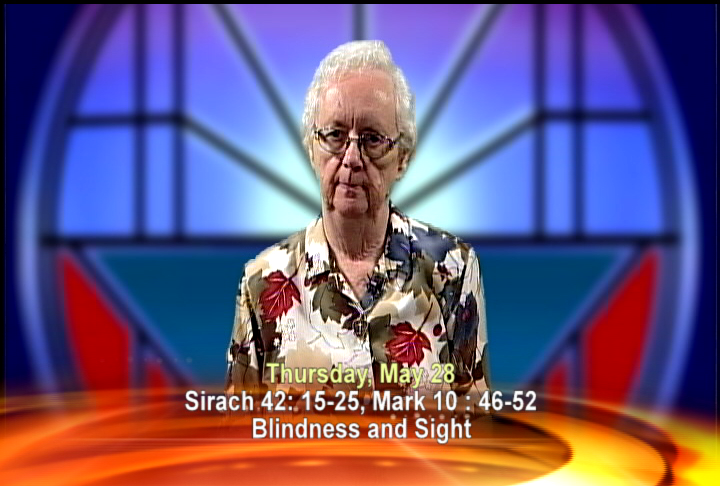 Artwork for Thursday, May 28th Today's Topic: Blindness and sight