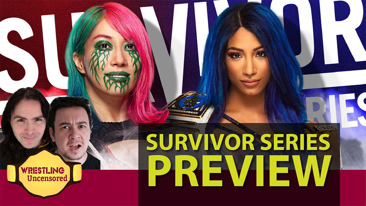 Wrestling Uncensored EP. 517: WWE Survivor Series preview