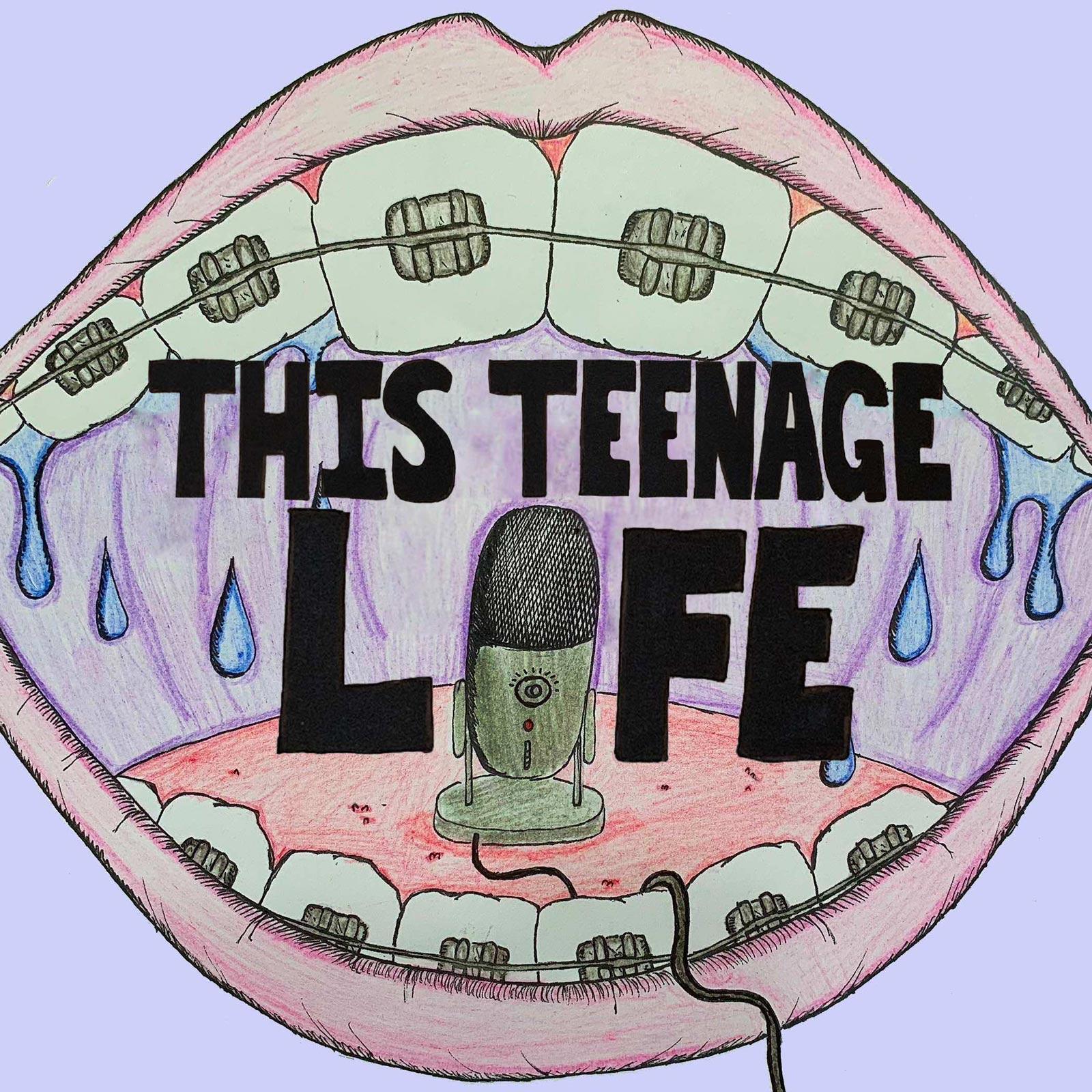 This Teenage Life show art
