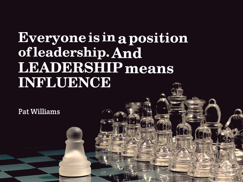 """Leading With INFLUENCE"" with Pat Williams"