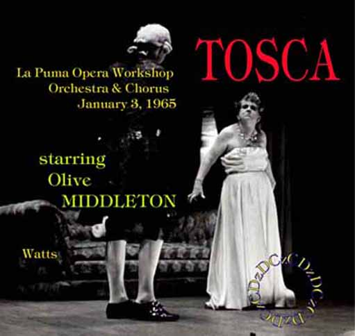 Tosca with Olive Middleton