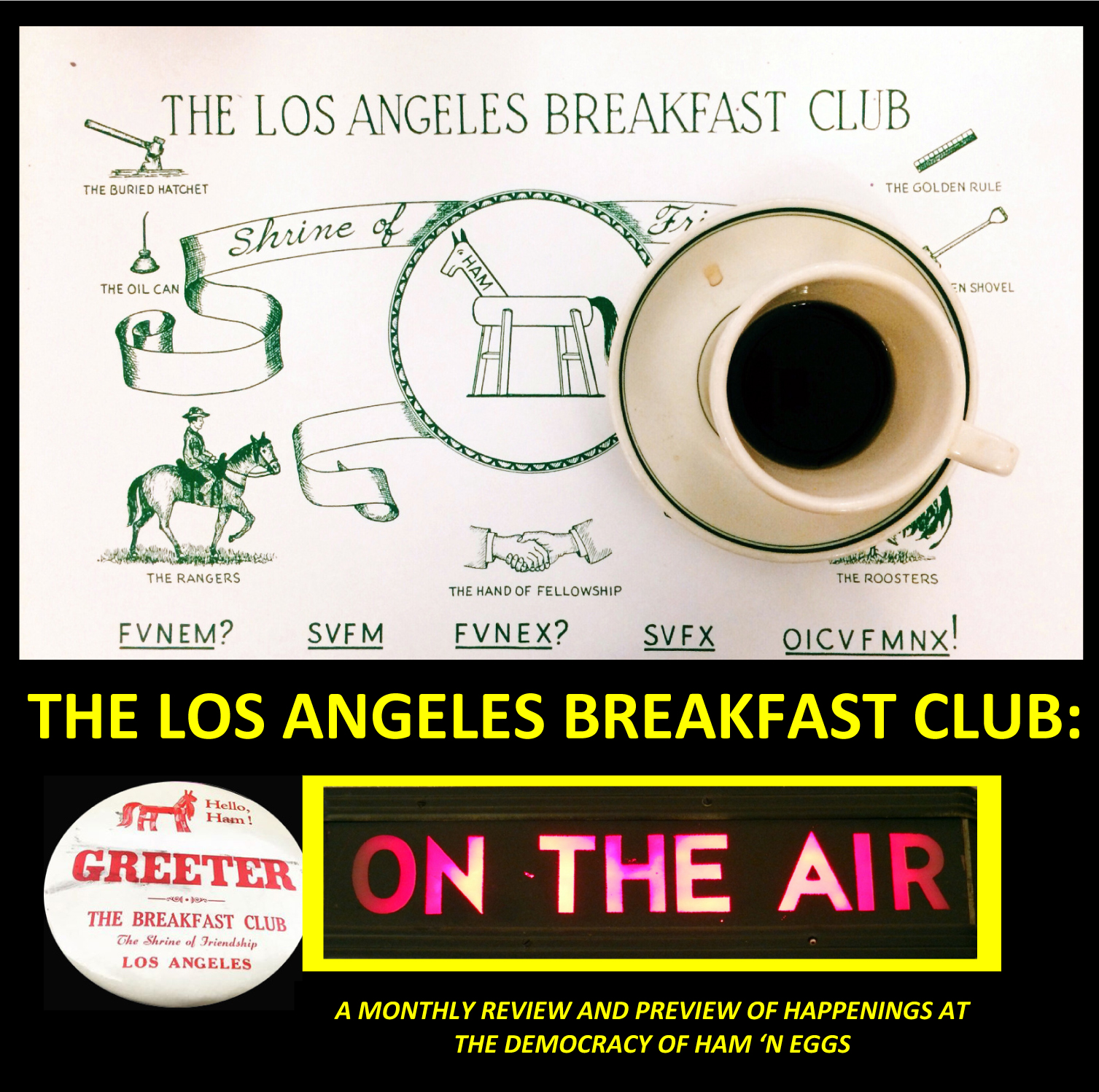The Los Angeles Breakfast Club: ON THE AIR  show art