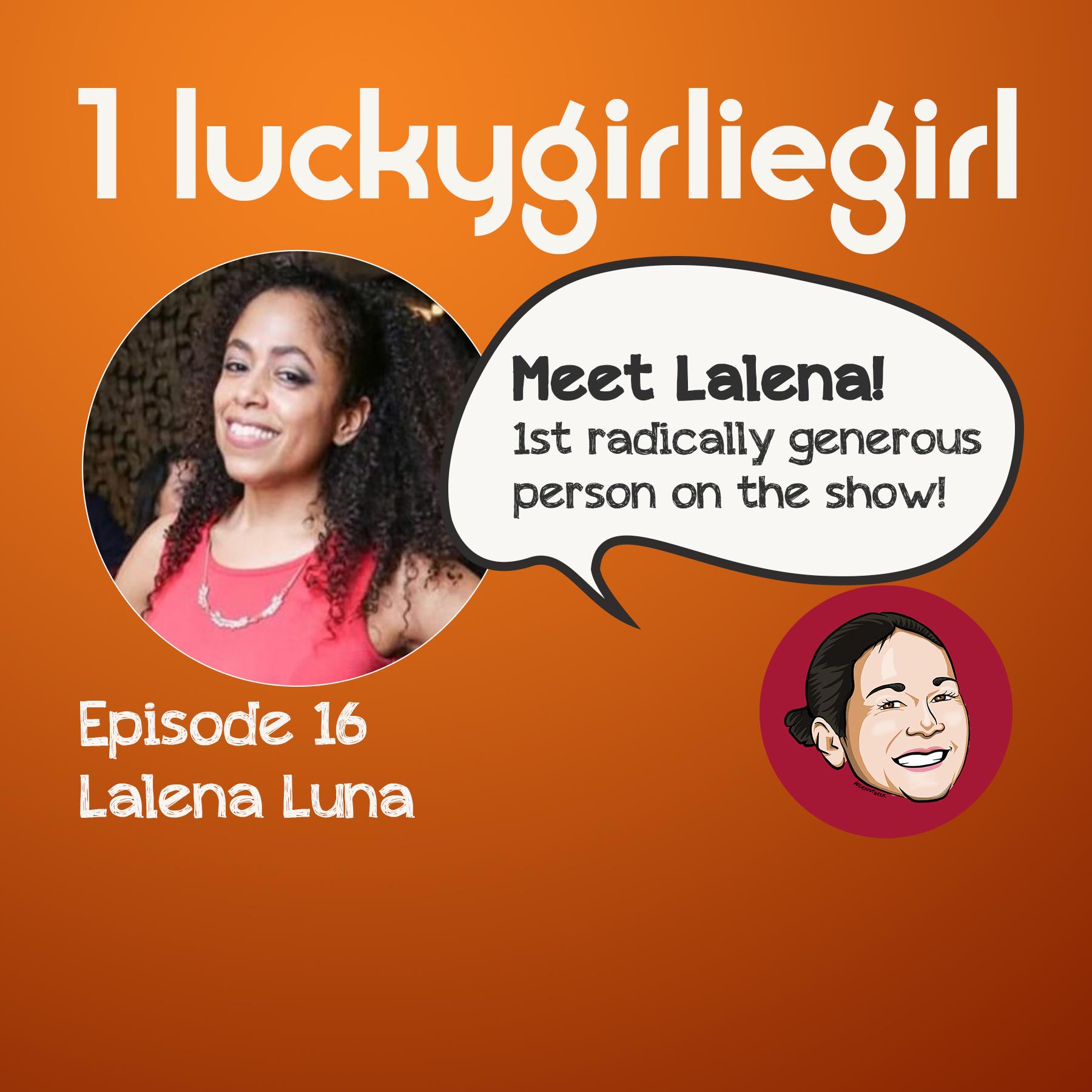 16 - Lalena Luna show art