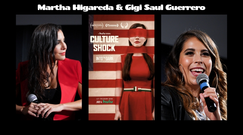 Fem TV: Into the Dark: Culture Shock's Martha Higareda and Gigi Saul