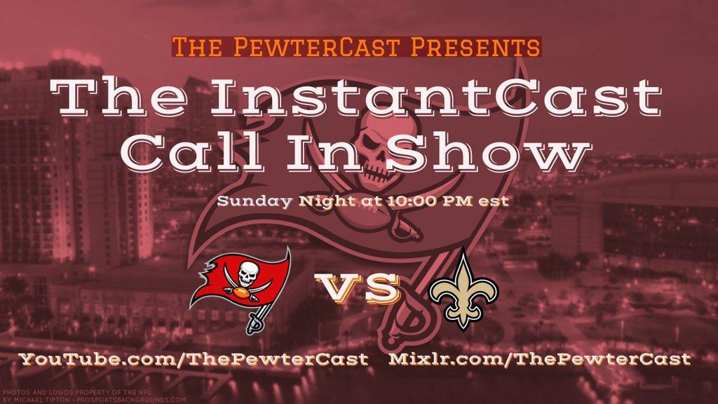 A Tampa Bay Bucs Fan Podcast, Buccaneers: InstantCast Game 13 - Bucs vs Saints