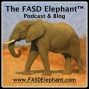 Artwork for FASD Elephant (TM) #008: The FASD Wheel (TM) - The Ten Brain Domains of FAS and FASD