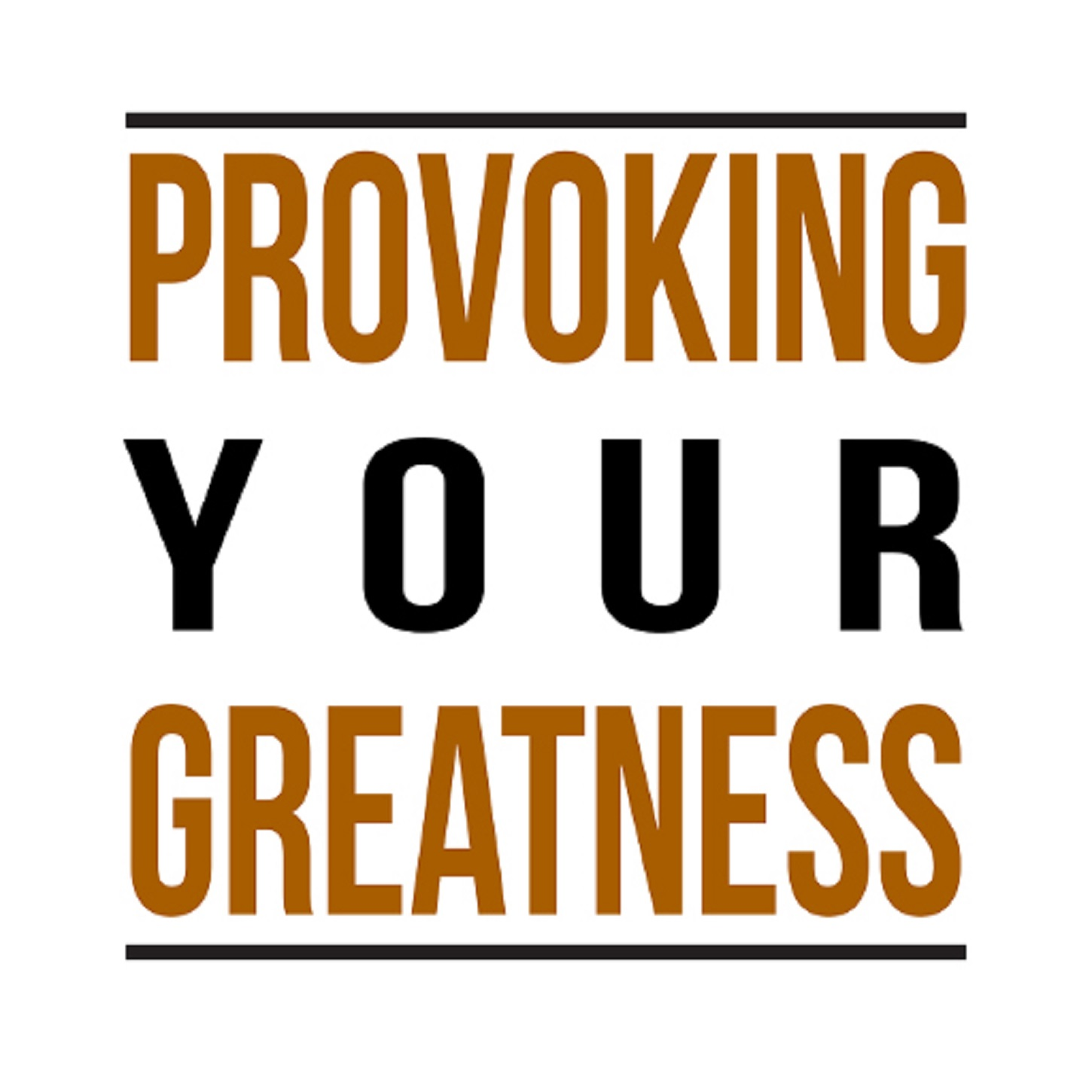 Provoking Your Greatness - Misti Burmeister show art