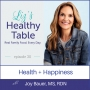 Artwork for 30: Health + Happiness with Joy Bauer, MS, RDN