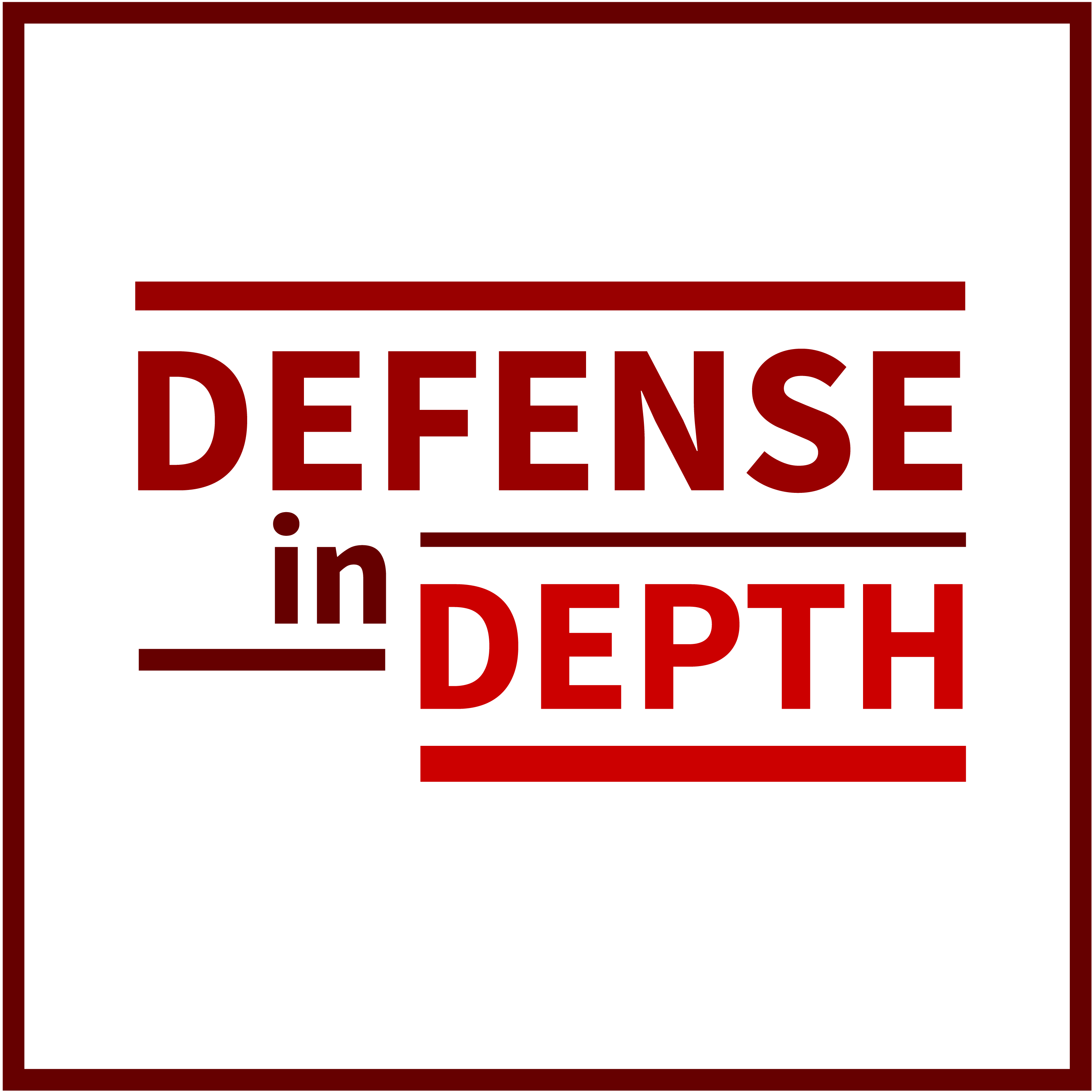 Defense In Depth On Apple Podcasts