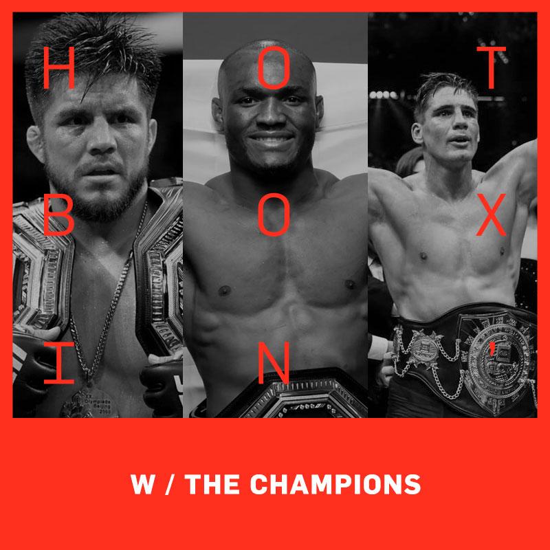 The Champions: Henry Cejudo, Kamura Usman, Rico Verhoeven