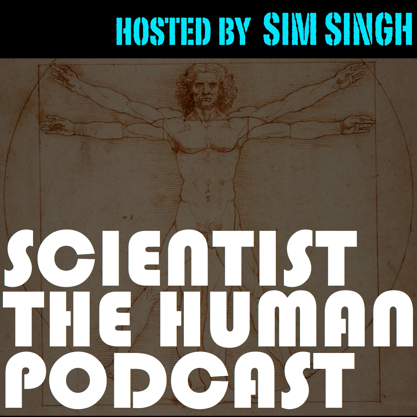 Scientist the Human Podcast show art
