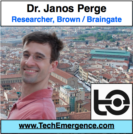 Brain-Machine Interface on the Cutting Edge - with BrainGate's Dr. Janos Perge