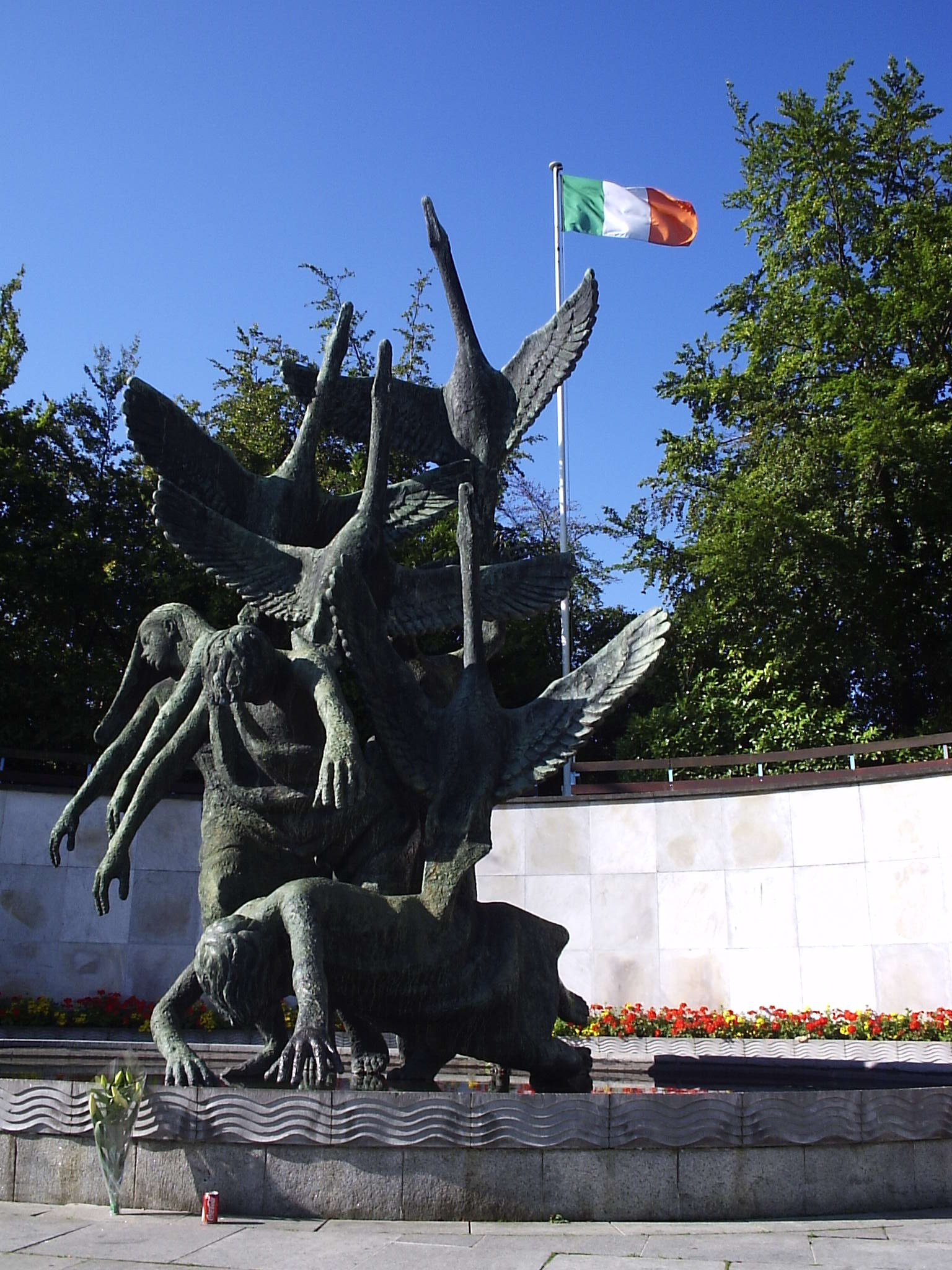 The Children of Lir in Dublin