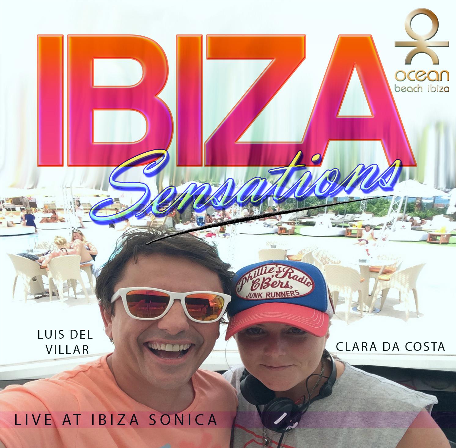 Artwork for Ibiza Sensations 101 Clara da Costa & Luis del Villar Live at Ibiza Sonica