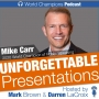 Artwork for Ep. 57 The Story Behind the 2020 World Champion Speaker, Mike Carr