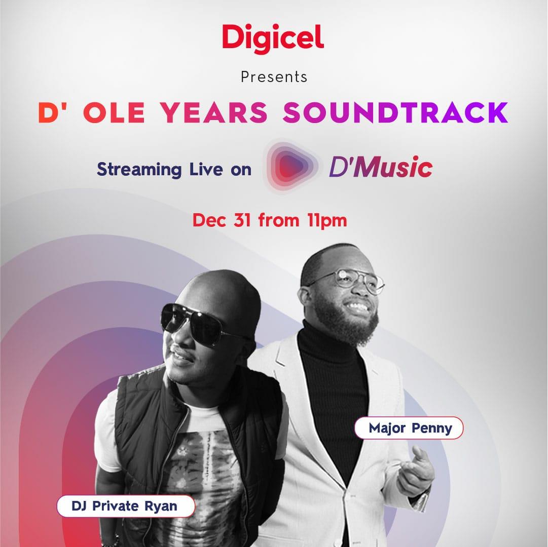 Digicel NYE 2020 live (feat. Dj Private Ryan x Major Penny) RAW