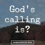 Artwork for God's calling is?