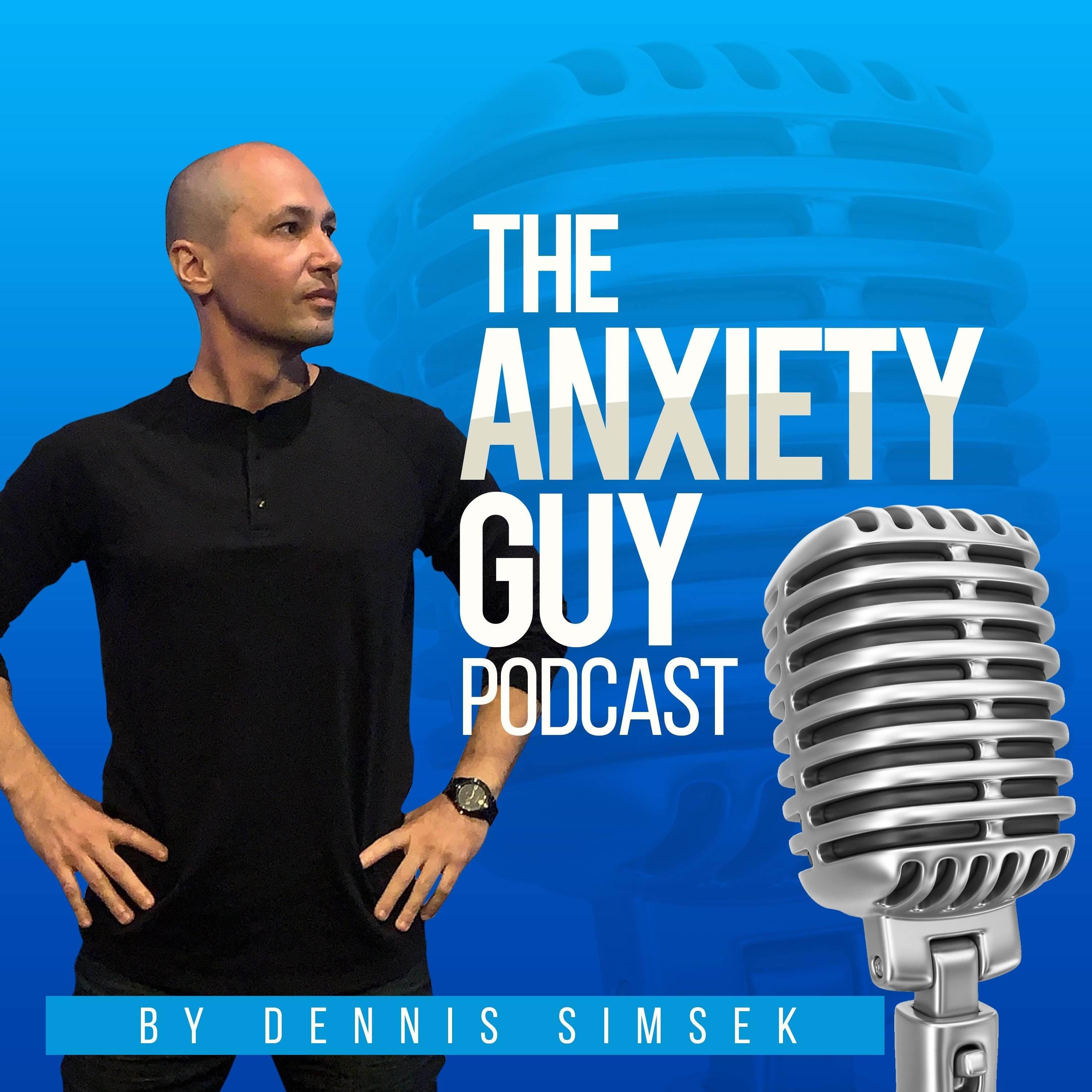 The Anxiety Guy Podcast show art
