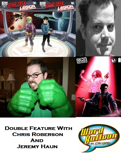 ep 372 Double Feature Chris Roberson And Jeremy Haun