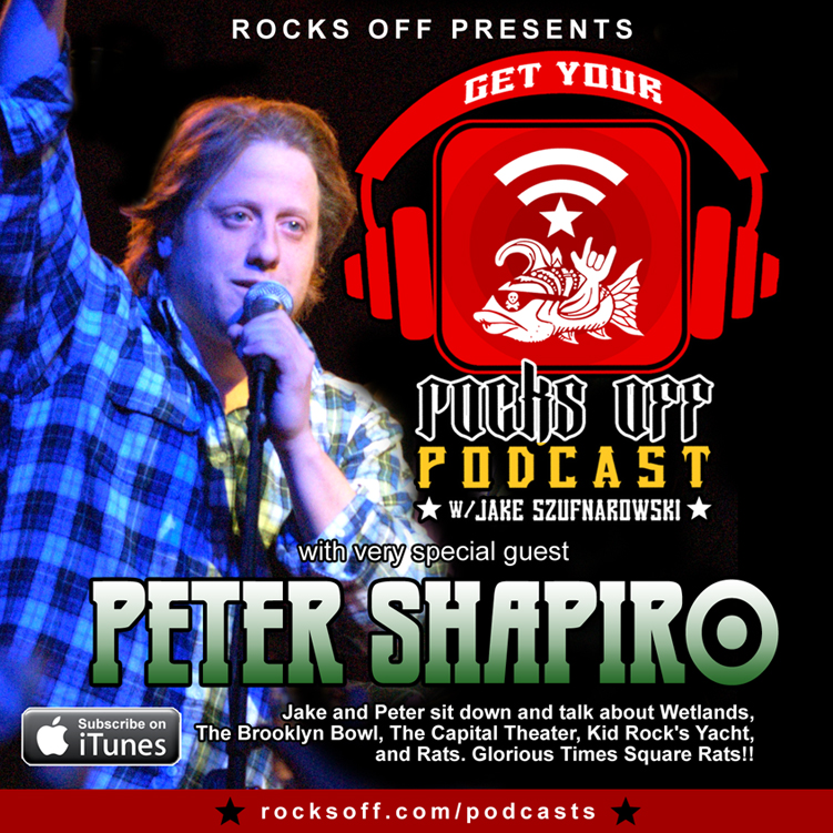 4. Get Your Rocks Off w/ Peter Shapiro