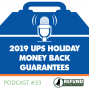 Artwork for 2019 UPS Holiday Money Back Guarantees