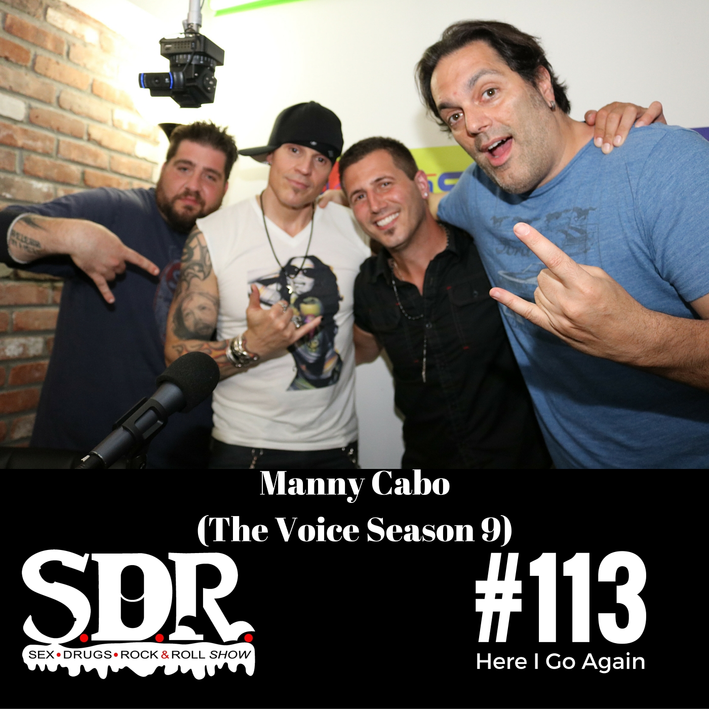 SDR#113 Manny Cabo - The Voice on NBC