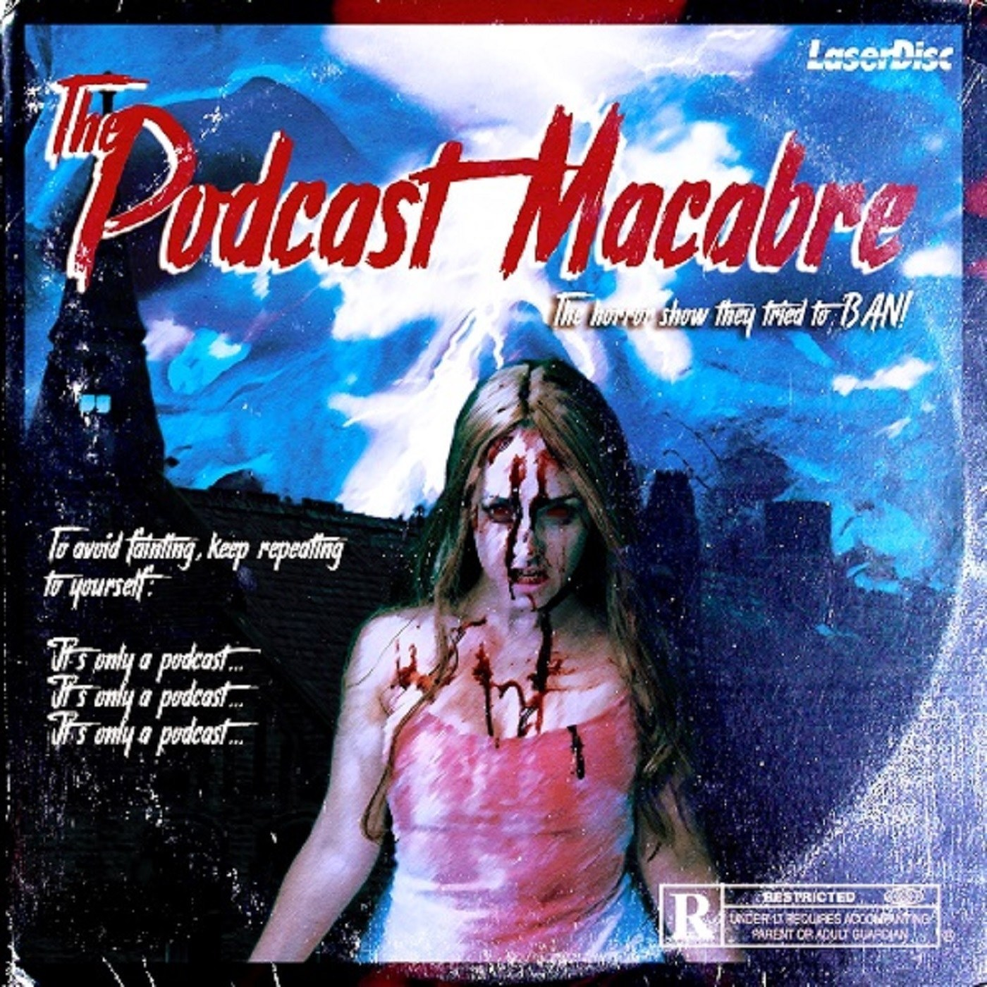 The Podcast Macabre show art