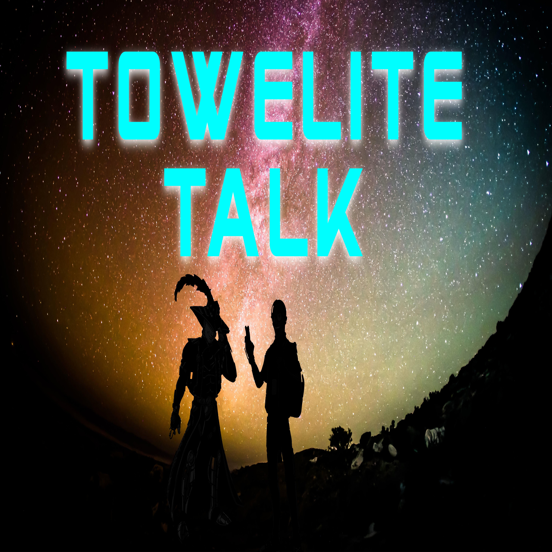 Towelite Talk show art
