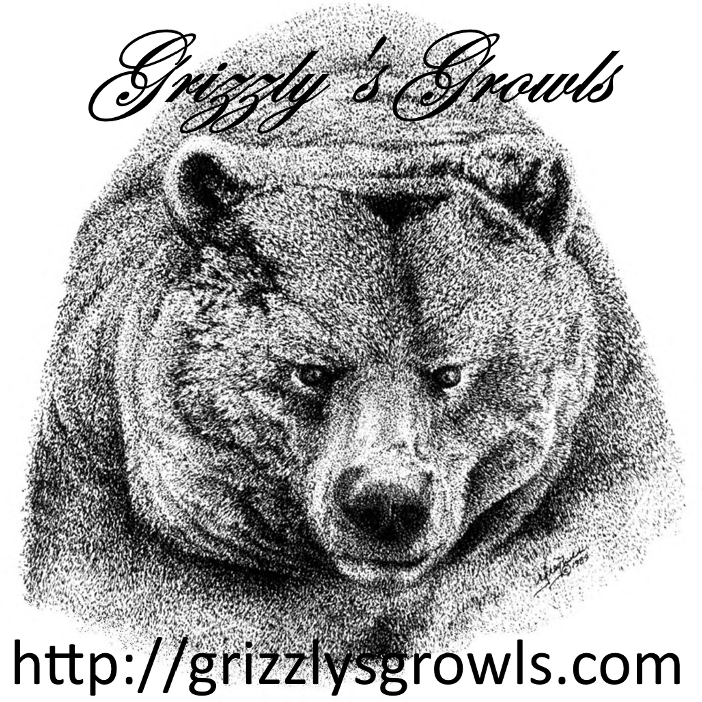 Grizzly's Growls podcasts show art