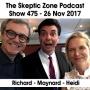 Artwork for The Skeptic Zone #475 - 26.Nov.2017