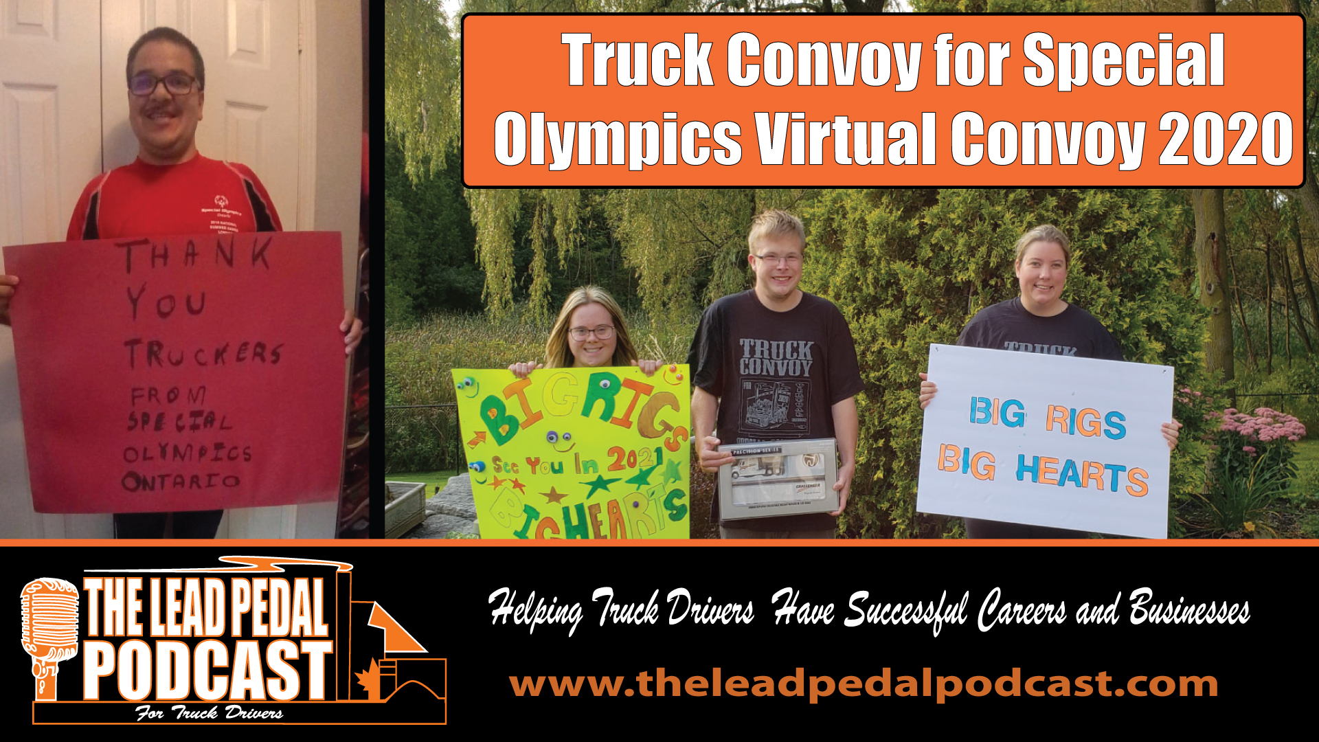 Truyck Convoy for Special Olympics 2020