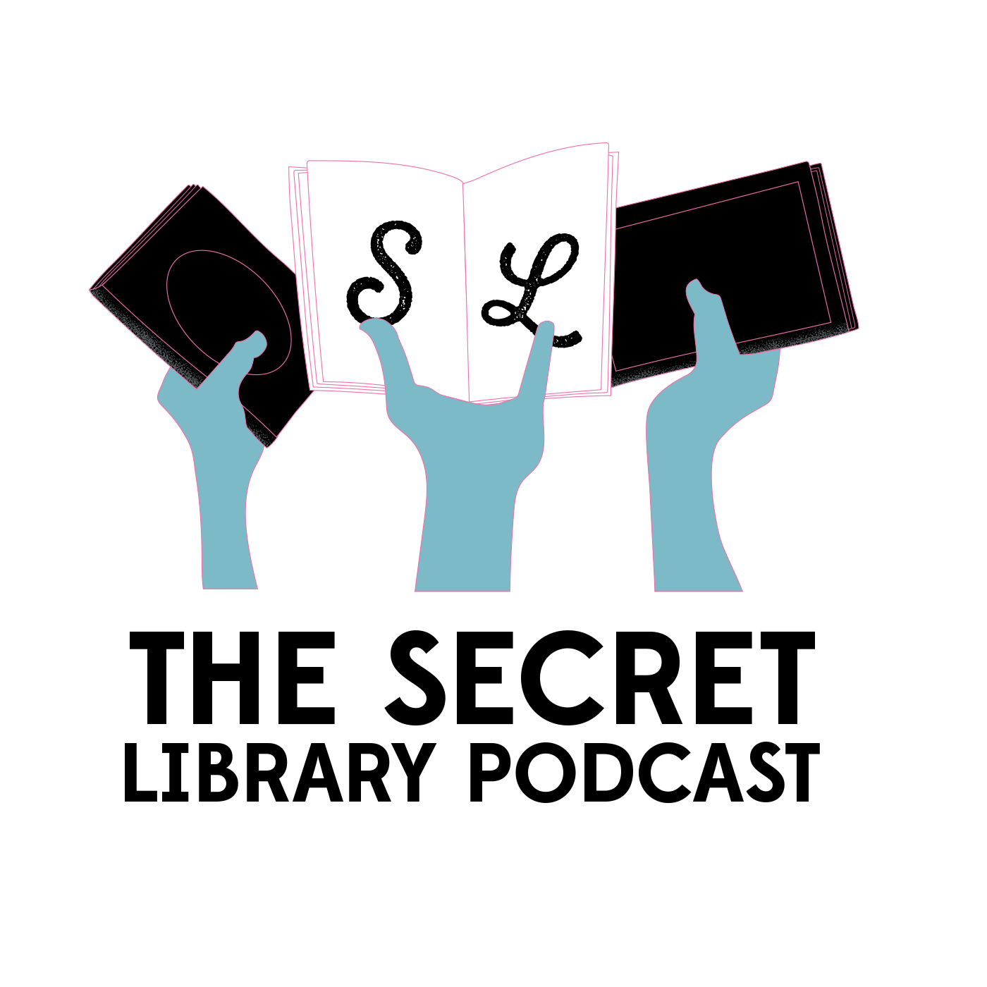 The Secret Library Podcast show art