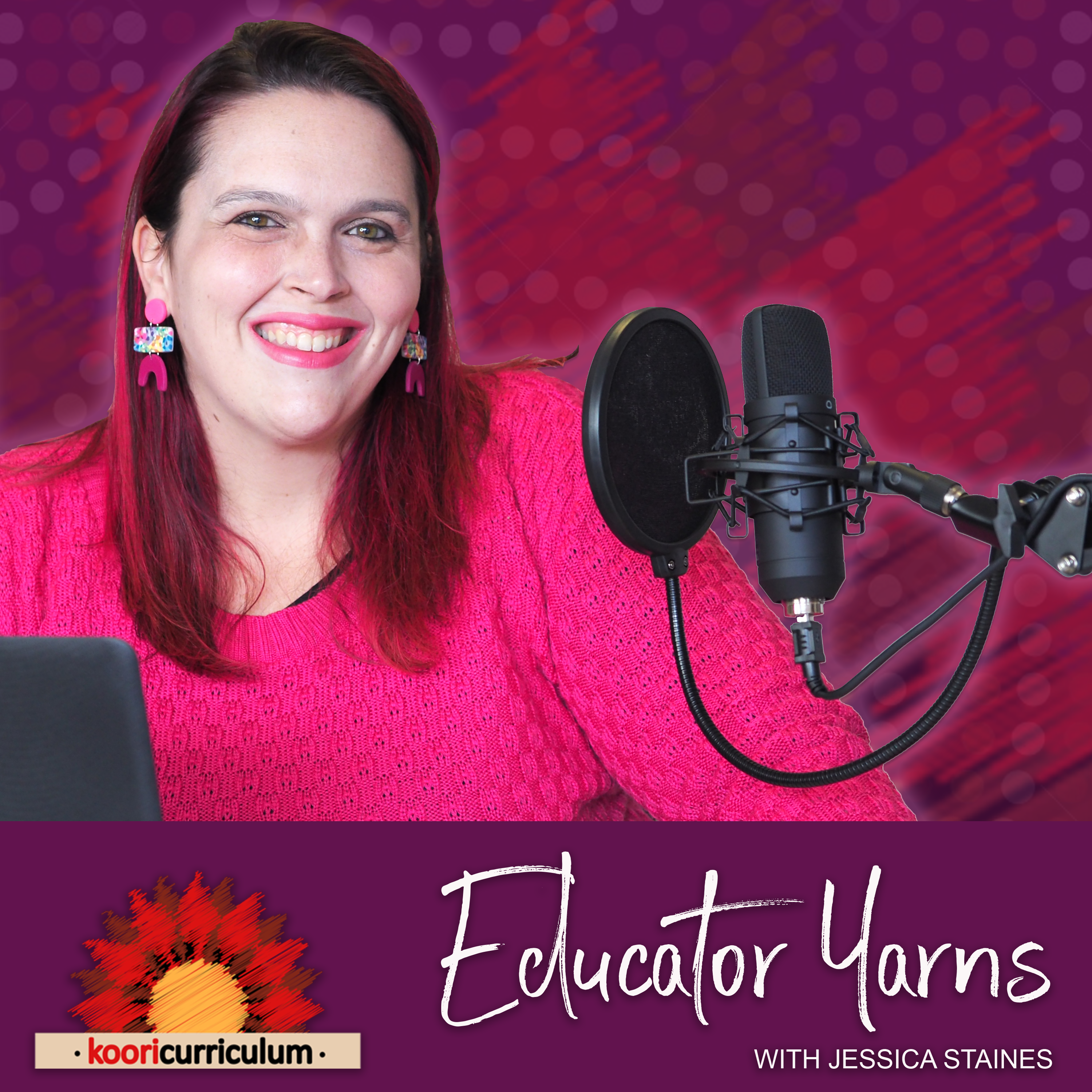 Educator Yarns with Jessica Staines show art