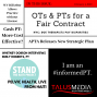 Artwork for #69: FEBRUARY 4, 2019: NYC: OTS & PTS FOR A FAIR CONTRACT, APTA STRAT PLAN, WV BILL ALLOWS UNLICENSED TO PRACTICE, FT. EMILY ROBERTS ON PELVIC HEALTH