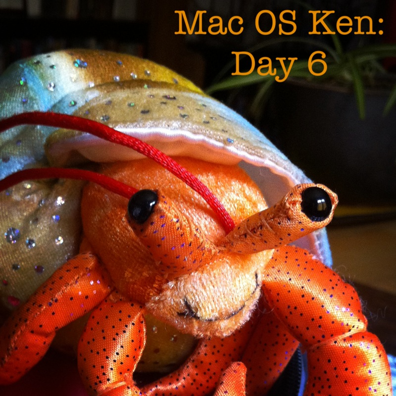 Prelude to Mac OS Ken: Day No. 315