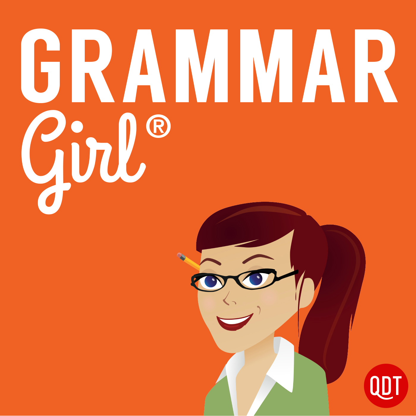 Grammar Girl's Quick and Dirty Tips for Better Writing logo