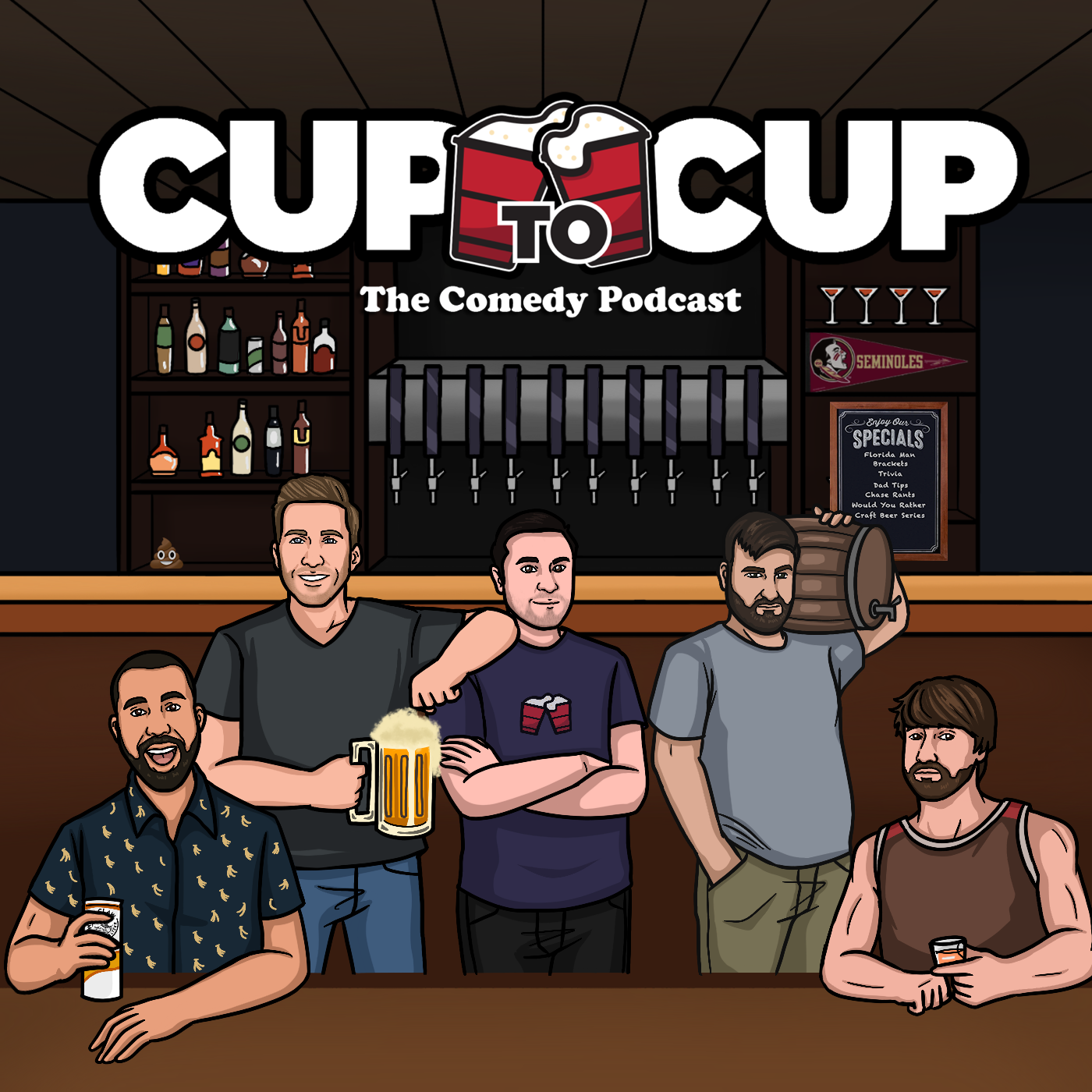 Cup to Cup | The Comedy Podcast