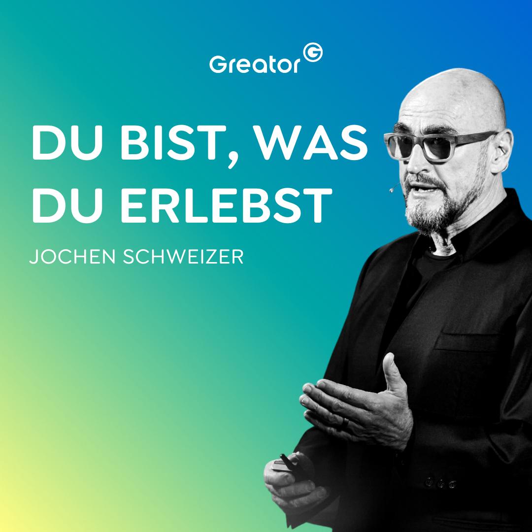 #723 So wirst du zum Unternehmer deines eigenen Lebens // Jochen Schweizer