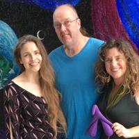 Monika, Paul Brumbaugh & Lucia Pavone