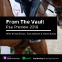 Artwork for From The Vault: Pau Preview 2016