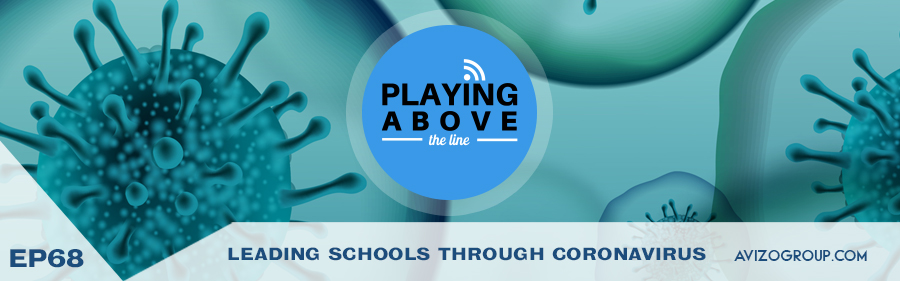 Coronavirus and Schools on Playing Above The Line