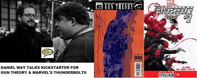 Word Balloon Podcast Daniel Way On The Return Of Gun Theory & His Spin On Thunderbolts