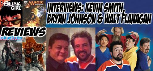 Episode 383 - Comic Book Men w/ Kevin Smith, Walt Flanagan & Bryan Johnson!