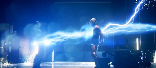 Crimson Comet #8 The Flash 1x07 Power Outage