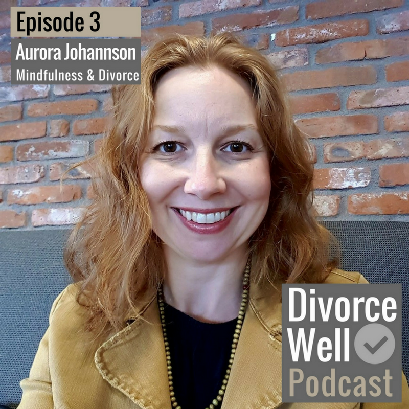 The Divorce Well Podcast - 03 - Mindfulness and Divorce, with Aurora Johannson