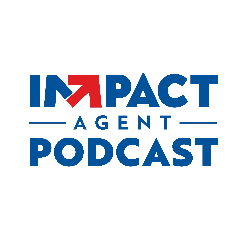 IMPACT Agent Podcast show art